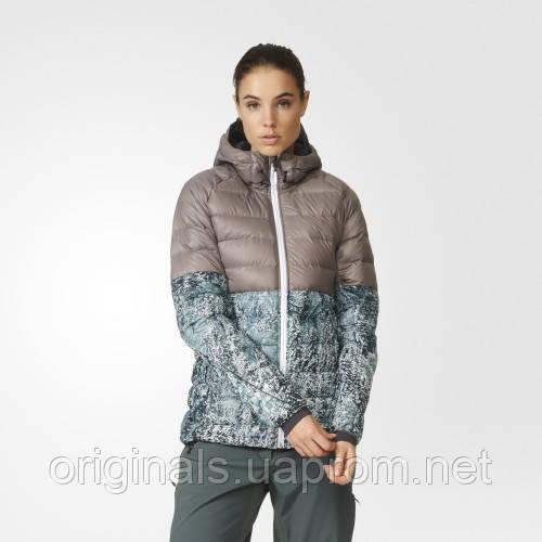 Утепленная куртка женская adidas Frost Print AP8727 - интернет-магазин Originals - Оригинальный Адидас, Рибок в Киеве