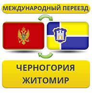 Международный Переезд из Черногории в Житомир