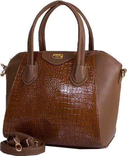 Стильная женская сумка из качественного кожзама ETERNO ETMS35255-12-1 коричневый