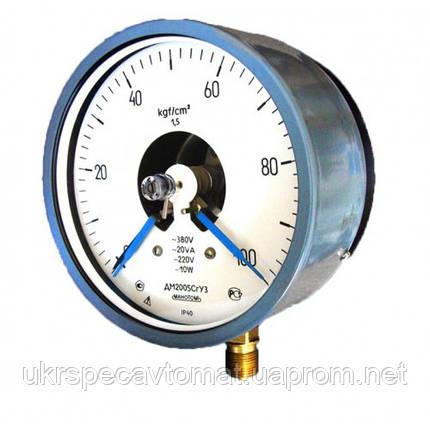 Вакуумметр электроконтактный сигнализирующий ДВ2005Сг, фото 2