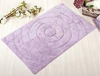 Коврик для ванной Irya Waves лиловый (70x120 см.)