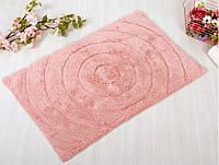 Коврик для ванной Irya Waves розовый (70x120 см.)