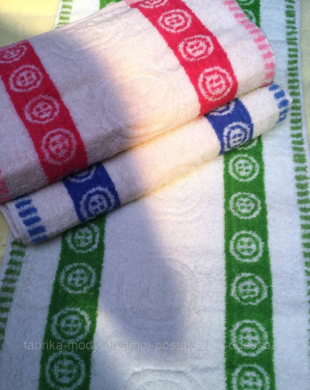 Кухонные махровые полотенца Пуговка