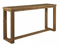Стол консоль из массива дерева 103
