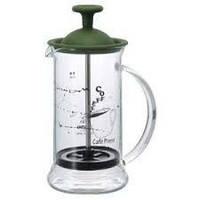 Френч пресс для кофе Hario Slim зеленый 240мл CPSS-2-OG
