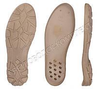 Подошва для обуви  5163PU бежевая