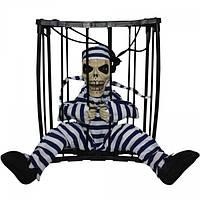 Игрушка Скелет в клетке
