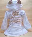 Дитячий махровий халат з іменною вишивкою, фото 7