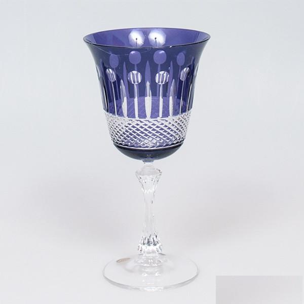 Набор бокалов для вина (сиреневые, 250 мл/6шт.) Julia FV3625