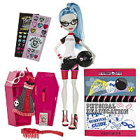 Кукла Гулия Йелпс в классе со шкафчиком / Ghoulia Yelps Classroom
