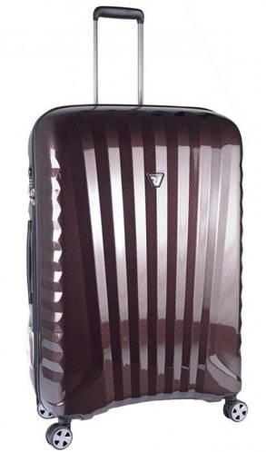 Пластиковый большой чемодан, 4-колесный 113 л. Roncato UNO ZSL Premium 5177 0199 красный карбон