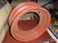 Диск колеса 4JхR13 4*114,3 НЕкрашенный, под бескамерку на Запорожец ЗАЗ-965, ЗАЗ-968 Колесный диск 965-3101015, фото 1