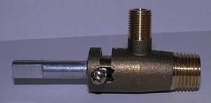 Кран газової плити Електа