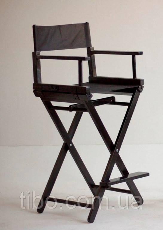 Стул визажиста раскладной черный (кресло визажиста). - интернет-магазин «tibo.» в Одессе