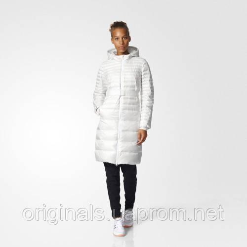 Утепленное пальто длинное для женщин Adidas Timeless AZ5851  - интернет-магазин Originals - Оригинальный Адидас, Рибок в Киеве