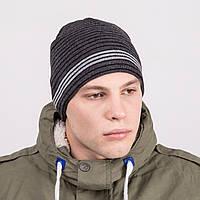 Молодежная зимняя шапка  для мужчин - Артикул 8807