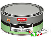Шпатлёвка лёгкая Novol LIGHT, 1 л