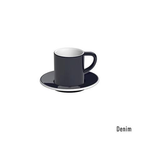 Набір чашка та блюдце для еспресо Bond 80ml Espresso Cup & Saucer (Denim)