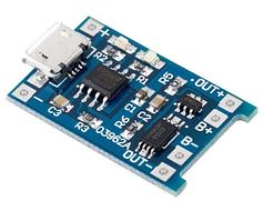 Модуль заряда LI-ION с защитой TP4056 #100265