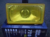 Противотуманные фары №7204 с крышкой (желтые), фото 1
