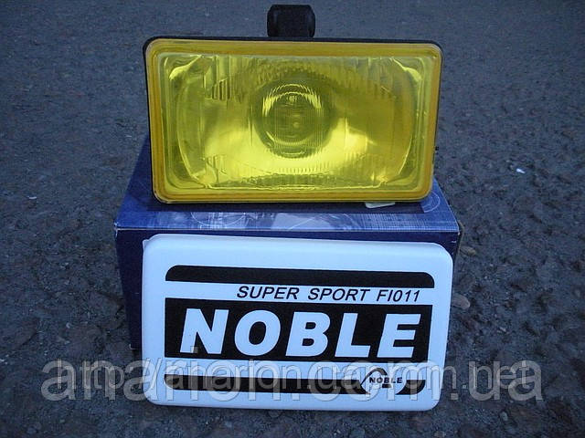 Противотуманная фара №7204 с желтым стеклом (1 шт)