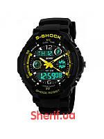 Часы спортивные Skmei 0931 Black-Yellow