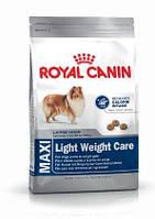Royal Canin Maxi Light Weight Care 15кг +контейнер-корм для собак крупных размеров,предрасположенных к полноте