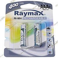 Raymax аккумуляторы AAA 400 mah, фото 1