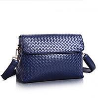 Женская модная сумка-почтальон из натуральной кожи