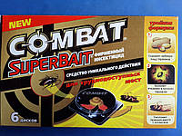 "Ловушка ""Комбат"" для уничтожения тараканов, прусаков , муравьев (Combat) 6 шт"