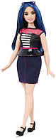 Кукла Барби Модница Милые полосы - пышная / Barbie Fashionistas Doll 27 Sweetheart Stripes - Curvy