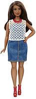 Кукла Барби Модница  32 Стиль - Соблазнительная / Barbie Fashionistas Doll 32 Dolled Up Denim - Curvy