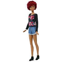Кукла Барби Модница Потрясающая Бахрома - Высокая / Barbie Fashionistas Doll 33 Fab Fringe - Tall