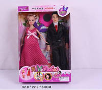 Кукла типа Барби 3 вида с обувью и аксессуарами