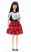 Кукла Барби Модница 19 Стиль Рубиновый Красный - Оригинальна / Barbie Fashionistas Doll 19 Ruby Red Floral - O