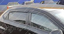 Вітровики вікон Чері Бонус хетчбек (дефлектори бокових вікон Chery Bonus)