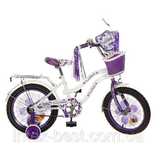 Велосипед детский PROF1 мульт 16д. PV1665G