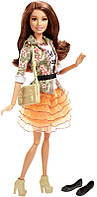 Кукла Барби Стиль Тереза 2015 / Barbie Style Teresa Doll, Floral Jacket & Orange Ruffle Skirt