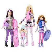 Кукла Барби и ее Сестры / Barbie - Sisters Winter Holiday Fun Exclusive Dolls