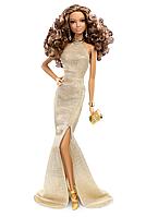 Коллекционная кукла Барби / Barbie The Look Red Carpet Black Label Collector: Gold Dress Barbie Doll