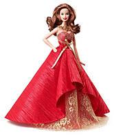 Коллекционная кукла Барби Праздничная 2014 / Barbie Collector 2014 Holiday Doll Brunette