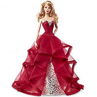 Коллекционная кукла Барби Праздничная 2015 / Barbie Collector 2015 Holiday Caucasian Doll