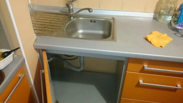 Подготовили монтажную зону для установки фильтра Наша Вода