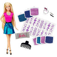 "Набор Барби ""Сияющие волоссы"" / Barbie Glitter Hair Design Doll"