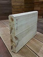 Стеновая панель сосна (АВ) 60-(135..185)-3000..4000мм