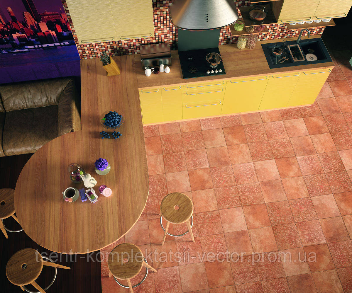 """Керамогранит Cotto classico декор Rosa 650х650мм - Online Shop """"VECTOR"""" в Днепре"""
