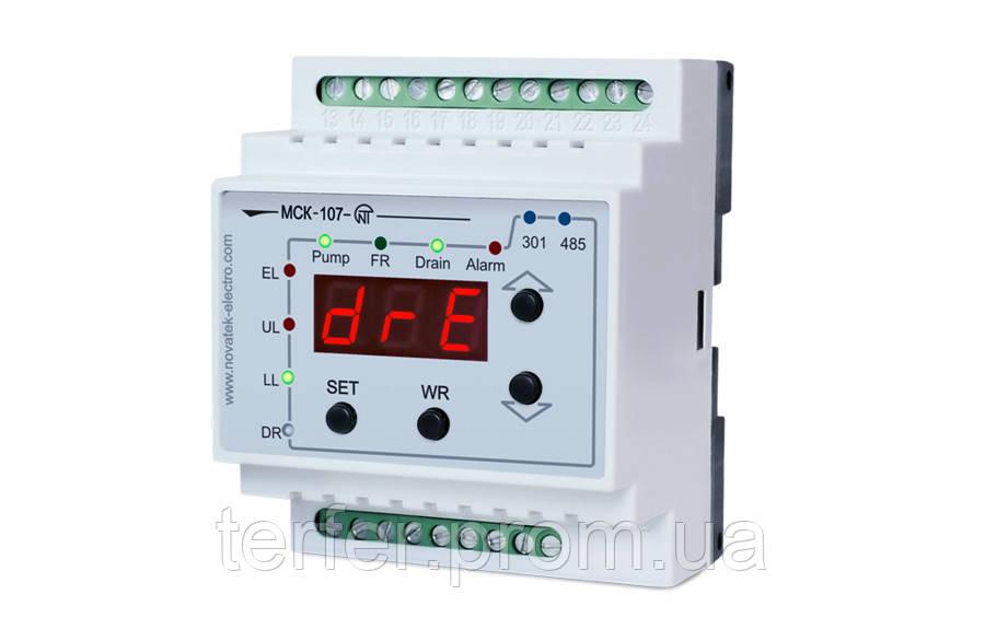 Контроллер насосной станции МСК-107 Новатек Электро