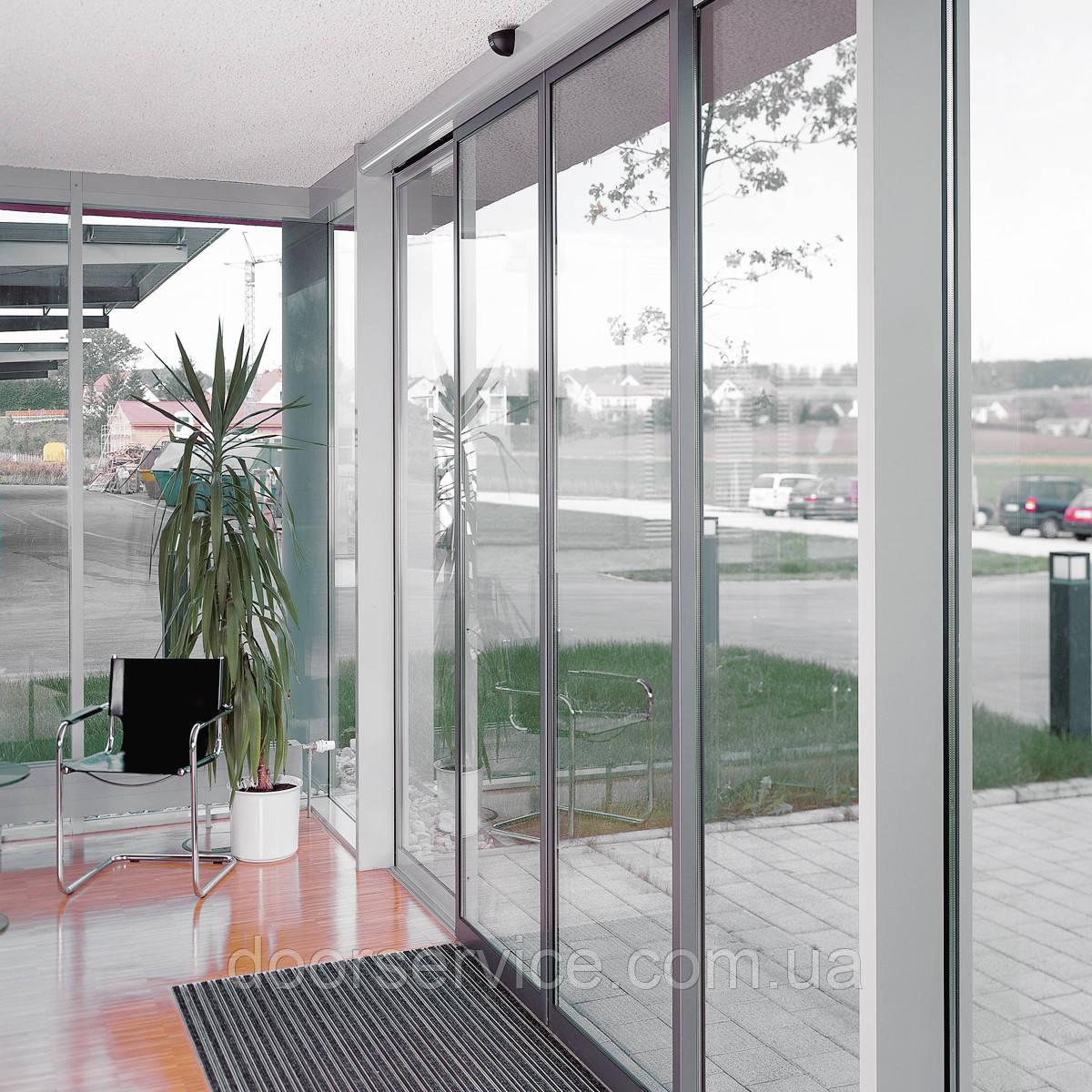 Автоматические раздвижные двери ST FLEX -  DOORSERVICE в Киеве