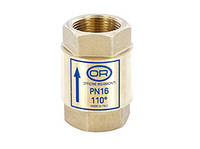 """Обратный клапан усиленный Officine Rigamonti MONDIAL с металическим затвором PN 25 (арт. 2154.9), 1"""""""