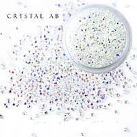 Хрустальная крошка Crystal AB,1440 шт